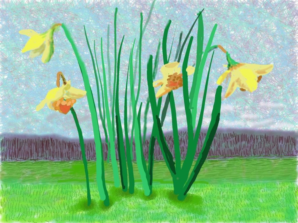 How David Hockney depicted a spring for self-isolationists