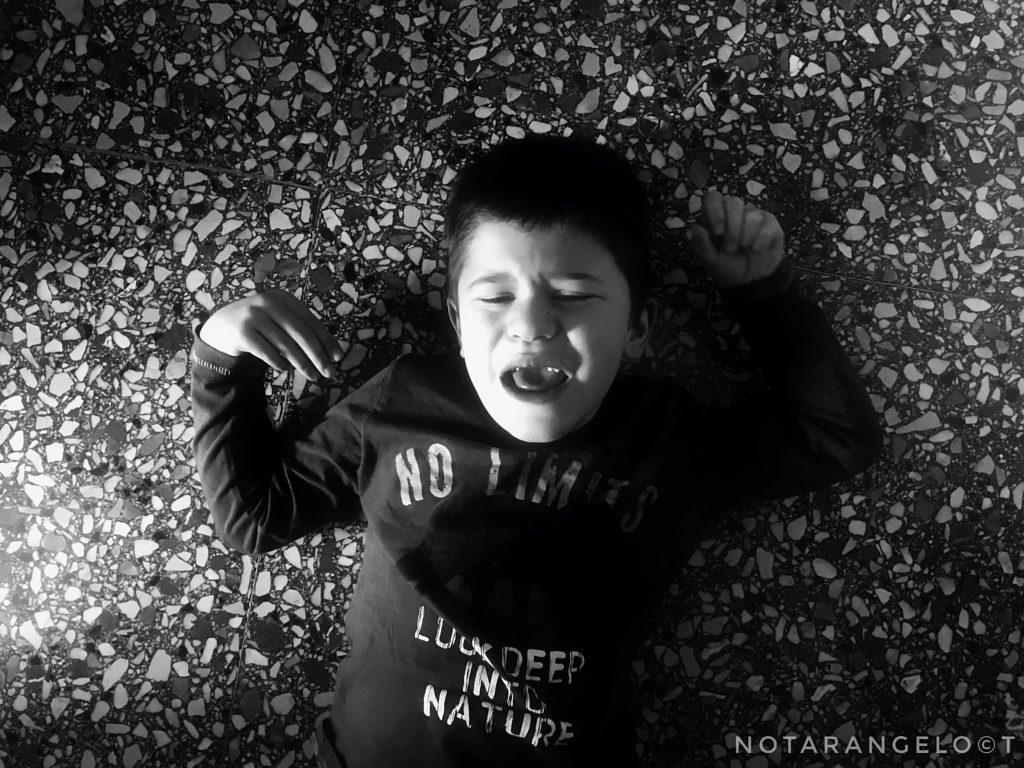 Reportage su mio figlio autistico in quarantena
